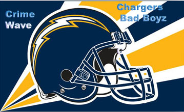 Chargers Crime Wave